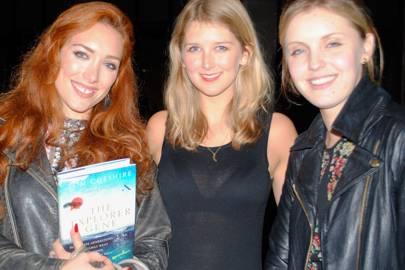 Claire Wells, Joanna Della Ragione and Thymmie Procope