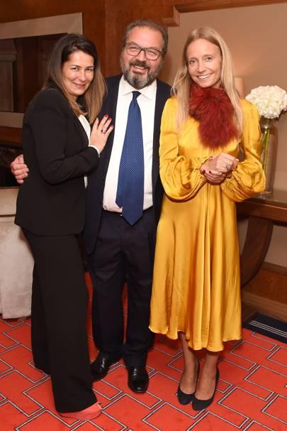 Elisabetta De Simone Niquesa, Luigi De Simone Niquesa and Martha Ward