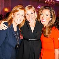 Sarah, Duchess of York, Tanya Bryer and Heather Kerzner