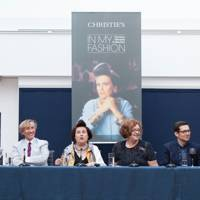 Erdem Moralioglu, Suzy Menkes, Alice Rawsthorn, Jasper Conran, Meredith Etherington-Smith and Mary Katrantzou