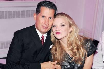 Stefano Tonchi and Natalie Dormer