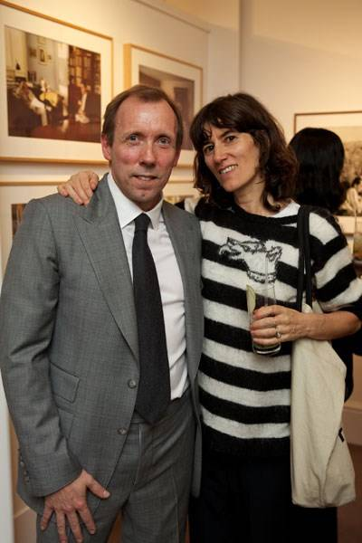 David Dawson and Bella Freud