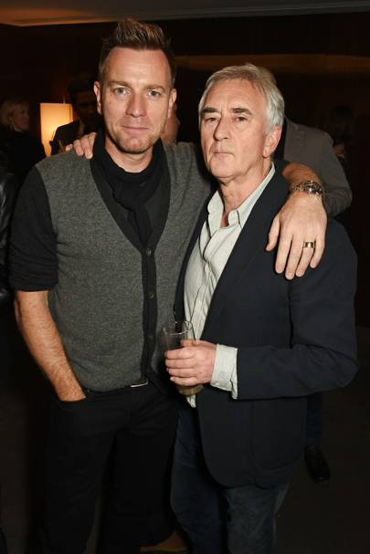 Ewan McGregor and Denis Lawson