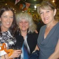Victoria Hislop, Jane Morpeth and Amanda Ross