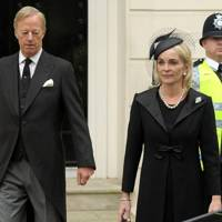 Sir Mark Thatcher and Sarah Thatcher
