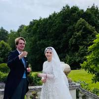Ned Donovan and Princess Raiyah of Jordan