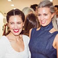 Emilia Wickstead and Sarah Harris