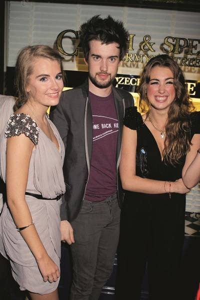 Jessica Howard-Johnston, Jack Whitehall and Rosanna Bruce