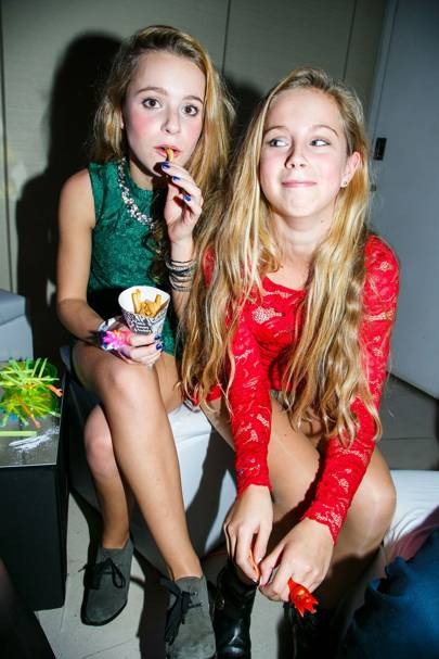 Olivia Kirby and Lucy Bergstrom
