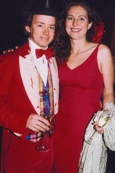 Giles Cardozo and Mrs Giles Cardozo
