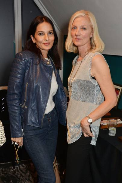 Yasmin Mills and Joely Richardson