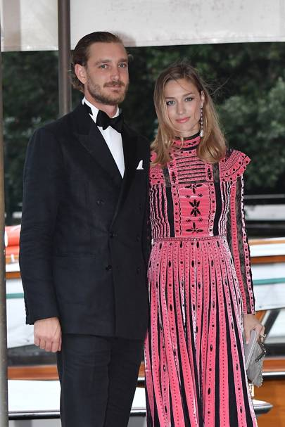Pierre Casiraghi and Beatrice Borromeo Casiraghi