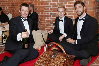 Matt Jelf, Johnathan Stirling and Arthur Bell