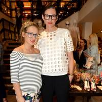 Sophia Webster and Jenna Lyons