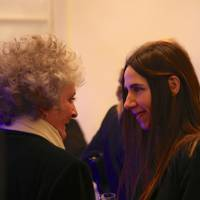 Maggi Hambling and PJ Harvey