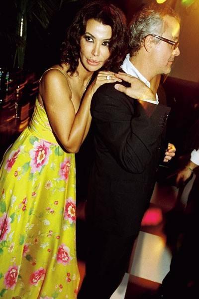 Mrs Carlos Monteverde and Carlos Monteverde