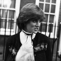 Diana, Princess of Wales in Earls Court in 1980, aged 19