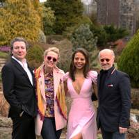 Viscount Weymouth, Monty Saul, Viscountess Weymouth and Roger Saul