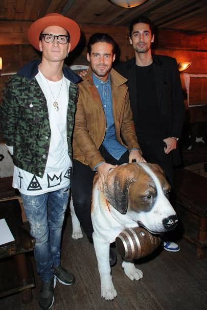 Oliver Proudlock, Spencer Matthews and Hugo Taylor