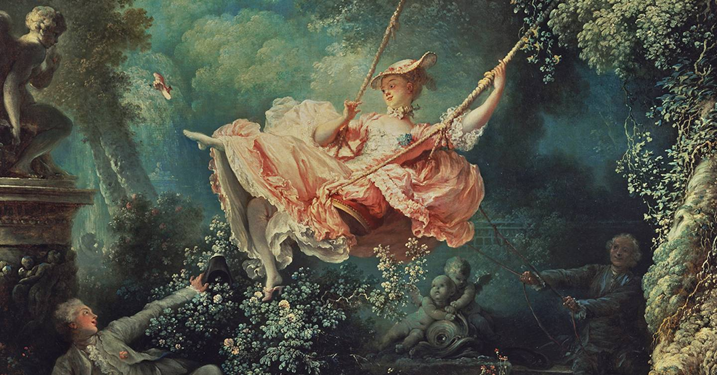 Jean-Honoré Fragonard's The Swing at the Wallace ...
