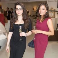 Najia Momen and Aida Khan