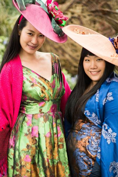 Wei Lin and Monique Lee