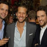 Charlie Gilkes, Jake Parkinson-Smith and Duncan Stirling
