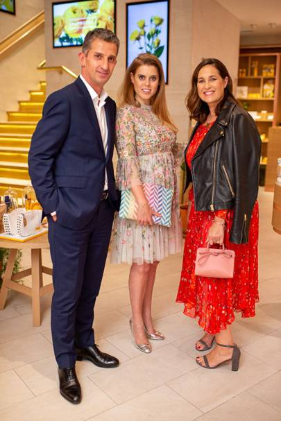 Alain Harfouche, Princess Beatrice and Monica Vinader