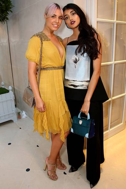 Amber Le Bon and Neelam Gill