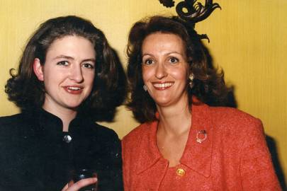 Lucy Macdonald-Buchanan and Baroness Marc de Dietrich