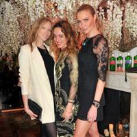 Jade Parfitt, Alice Temperley and Jodie Kidd