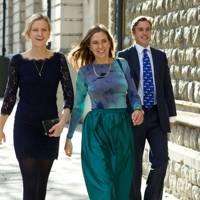 Posy Brinkley, Alice Brinkley and Sam Palmer