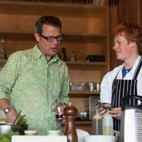 Hugh Fearnley-Whittingstall and Sam Lomas