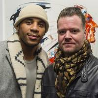 Reggie Yates and Dave White