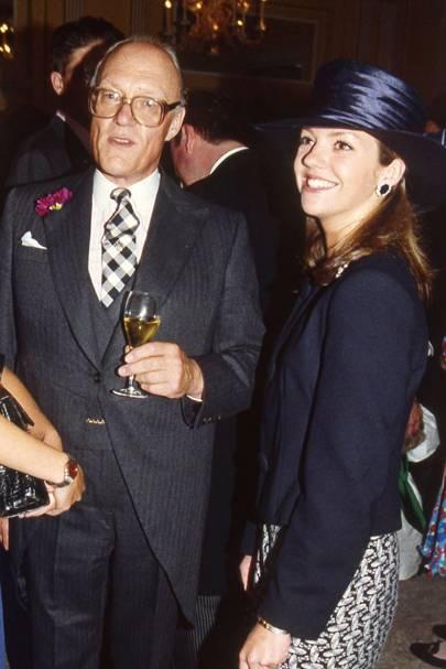 Giles Shepard and Fiona Shakerley