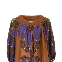 Silk & cotton top, £2,515, by Emilio Pucci