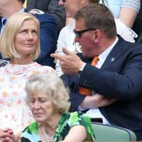 Joely Richardson and Matthew Pinsent