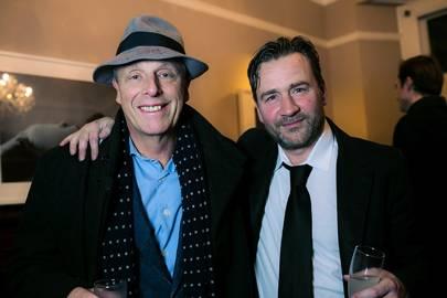 Simon Woodroffe and Julian Marshall