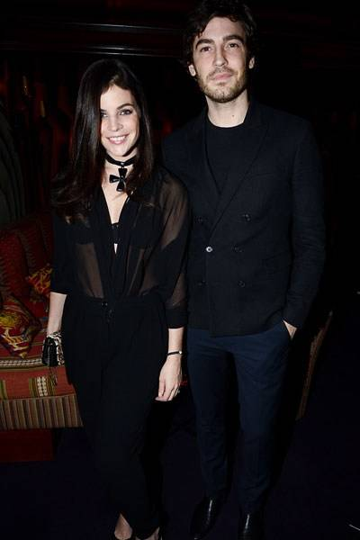 Julia Restoin Roitfeld and Robert Konjic