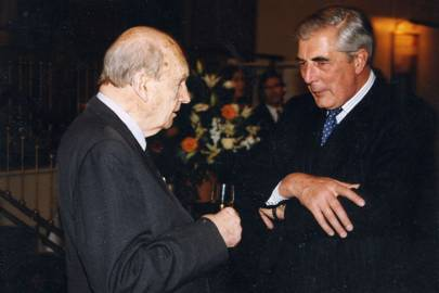 Lord Charteris of Amisfield and David Thomas