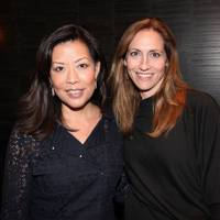 Andrea Wong and Dana Gers