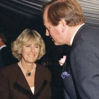 Camilla Parker-Bowles and Brigadier Andrew Parker Bowles