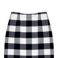 Wool skirt, £695, by Oscar de la Renta