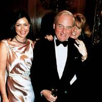 Mrs Howard Spooner, Sir Brian Williamson and Mrs Charles Farr