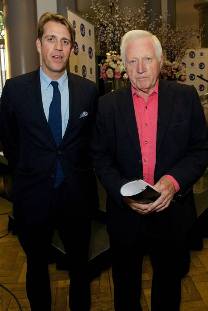 Ben Elliot and David Dimbleby