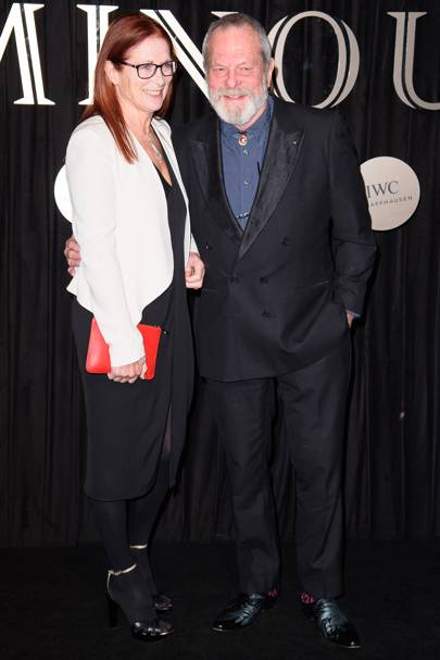 Maggie Weston and Terry Gilliam