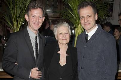 John Logan, Dame Judi Dench and Michael Grandage
