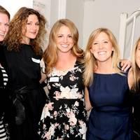 Kristine Grigsby, Charlotte Salasky, Megan Ceryanec, Rachel Gordan and Lauren Cialone