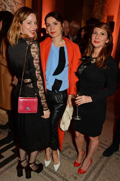 Sienna Guillory, Lara Bohinc and Chloe Franses
