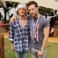Dougie Poynter and Harry Judd